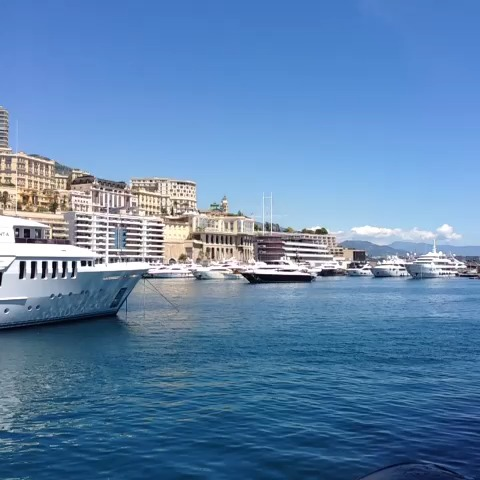 View around Monaco port.